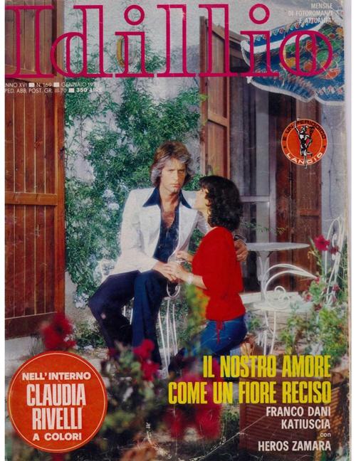 IDILLIO N. 169 (1977) - IL NOSTRO AMORE COME UN FIORE RECISO-2