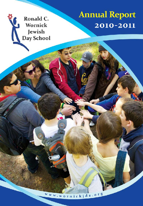 Wornick Jewish Day School - Anuual Report 2010-2011