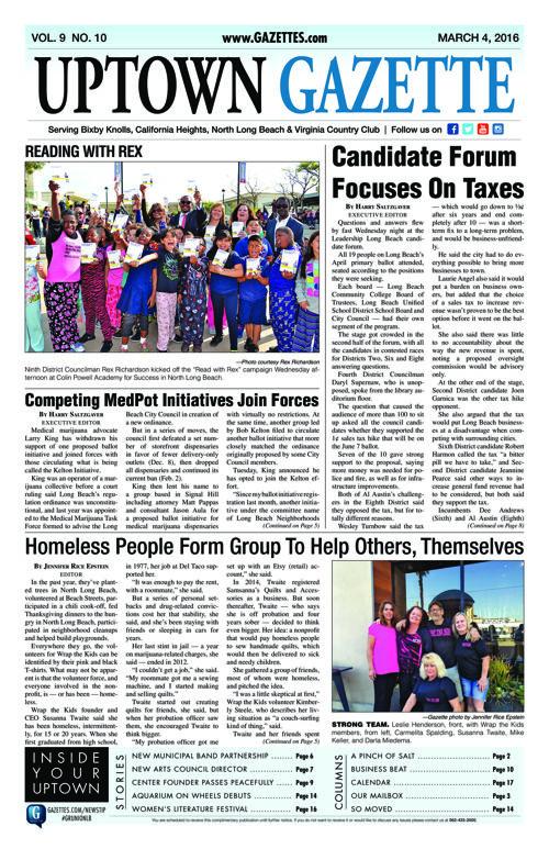 Uptown Gazette  |  March 4, 2016