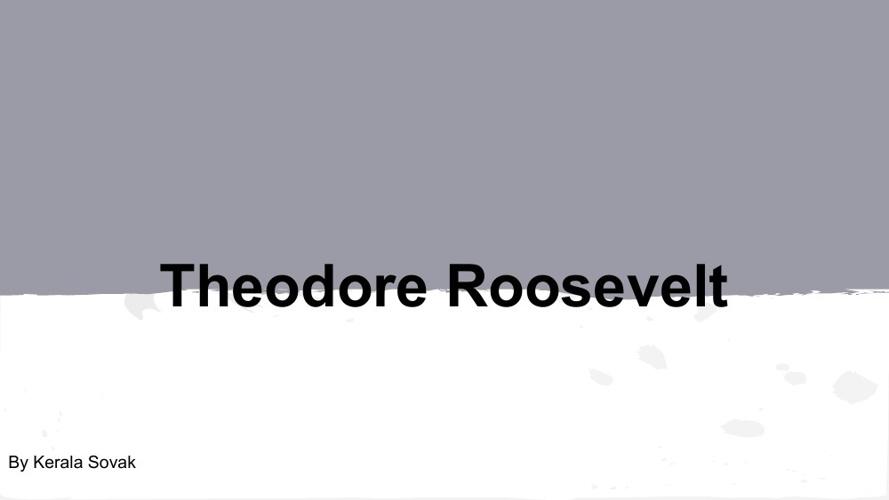 Theodore Roosevelt