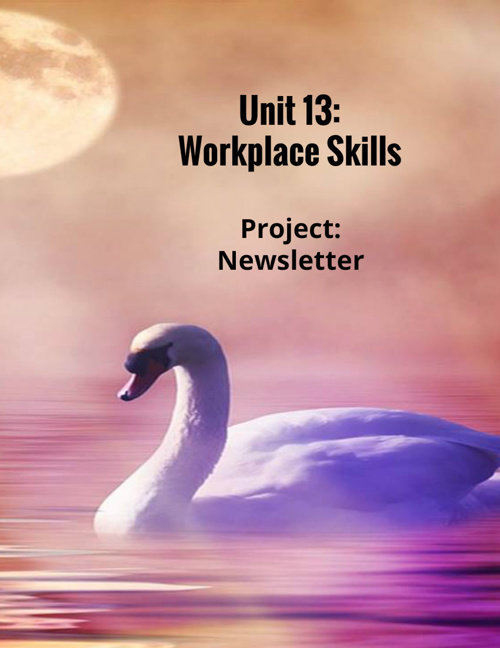 Unit 13: Workplace Skills