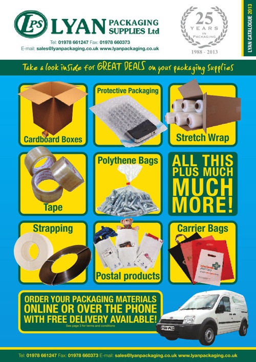 Lyan Packaging Catalogue 2013