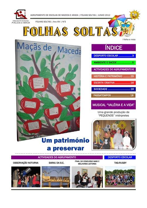Jornal Escolar Folhas Soltas 2011/12
