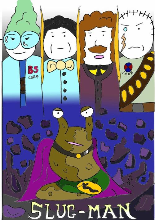 Slug-Man Story 1- The Origins