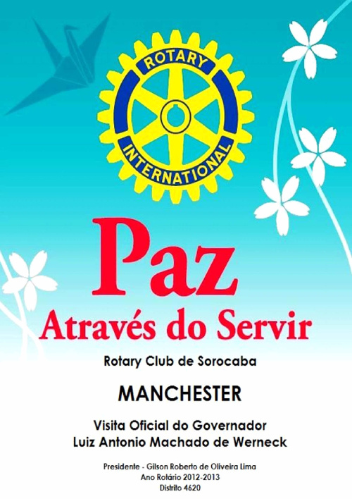Copy of ROTARY CLUB SOROCABA - MANCHESTER