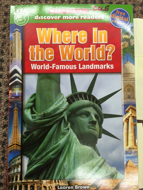 Where in the World? Nonfiction Assessment