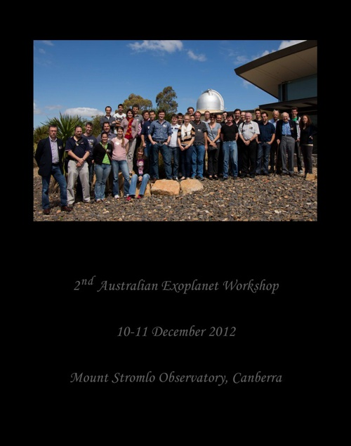 2nd Australian Exoplanet Workshop