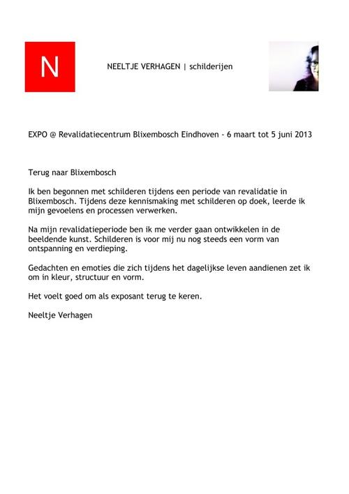 EXPO @ RC Blixembosch | Neeltje Verhagen