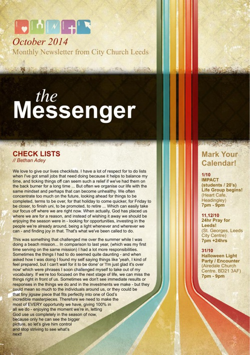 The Messenger - October 2014