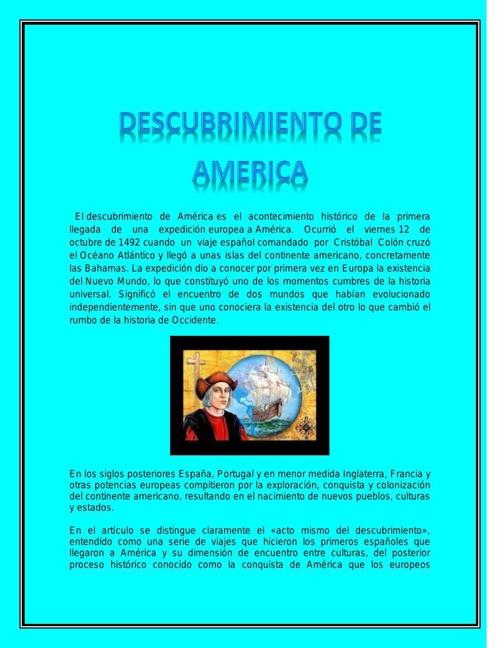 Copy (2) of DESCUBRIMIENTO DE A MERICA