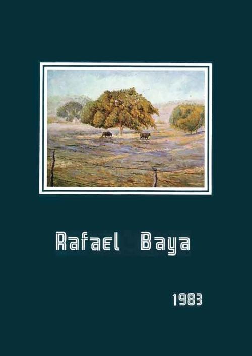 Exposición Rafael Baya 1983 Galería Azcue