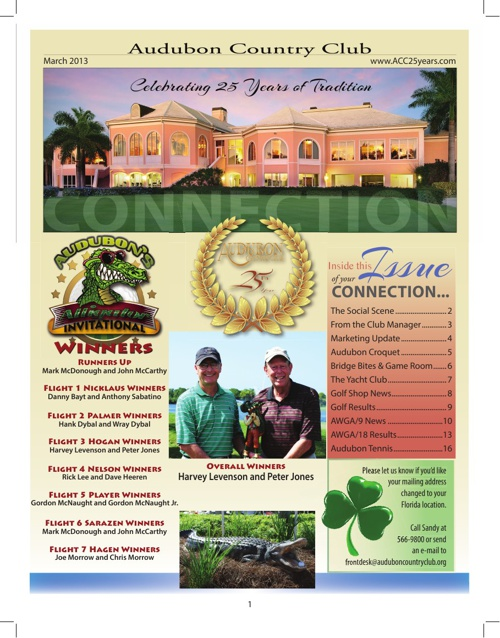 Audubon CC of Naples March Newsletter