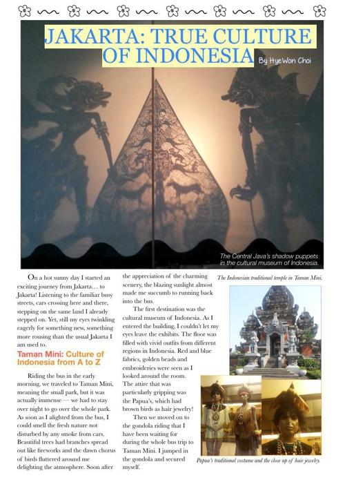 Jakarta: True Culture of Indonesia