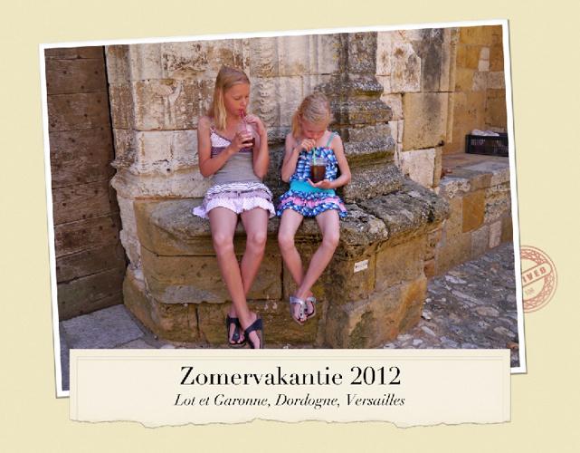 Fotoboek Zomervakantie 2012