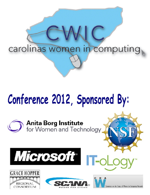 CWIC 2012 Program of Events