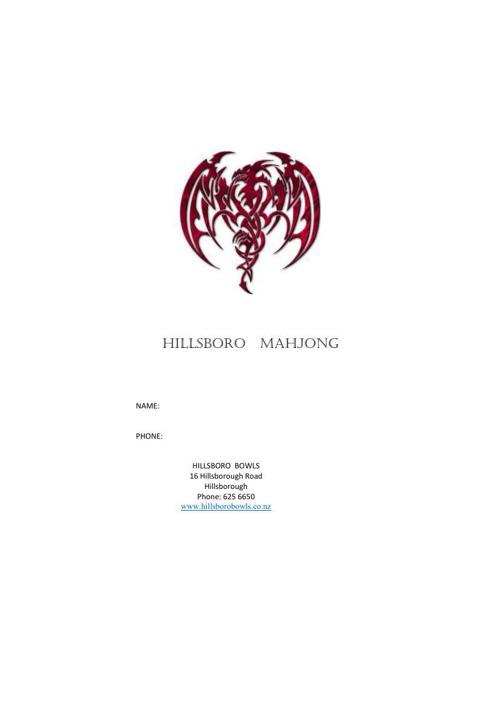 Hillsboro Mahjong
