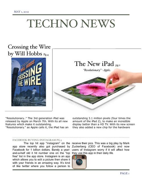 News Magazine Techno News