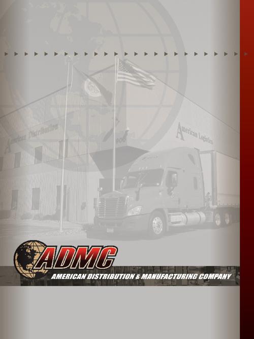 2012 ADMC Brochure