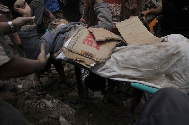 ضحايا العدوان السعودي على مدينة صنعاء القديمة في اليمن 1