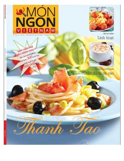 tạp chí nấu ăn