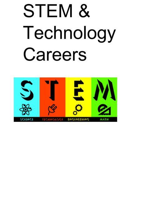 STEM & Technology Careers