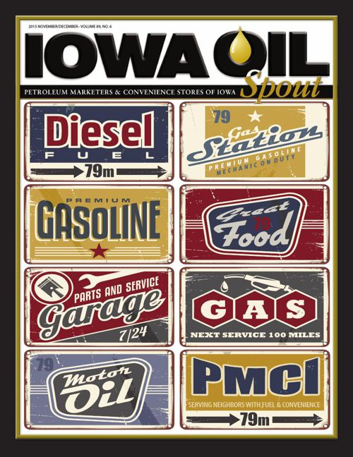 2015 Iowa Oil Spout - November/December