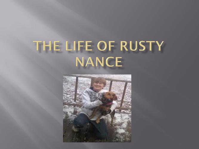 Rusty Nance