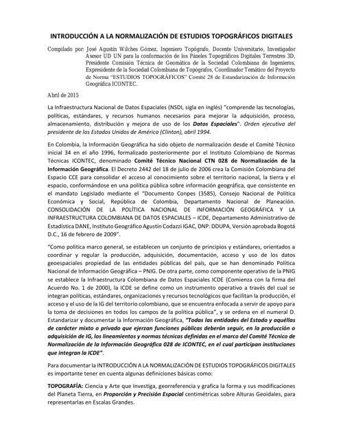1 ARTICULO REVISTA ANALES - INTRODUCCIÓN A LA NORMALIZACIÓN DE E