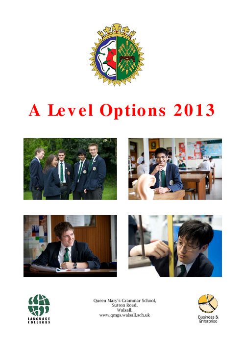 A Level Options Book 2012