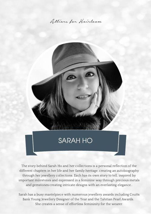 PRICE LIST - SARAH & SARAH