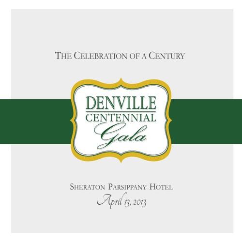 Denville Centennial Gala Program - DRAFT 3/18/13
