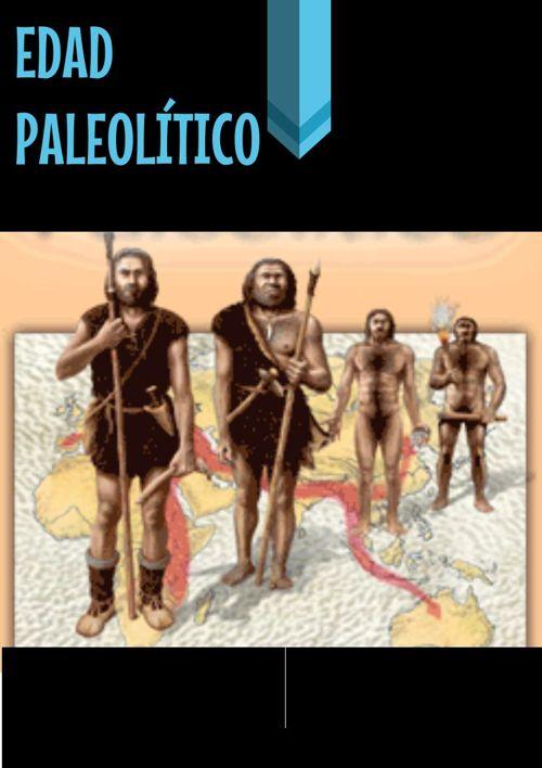 Edad Paleolítica