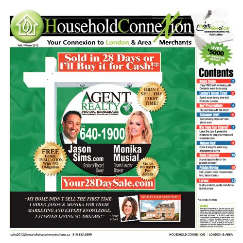 Household Connexion Nov 2012