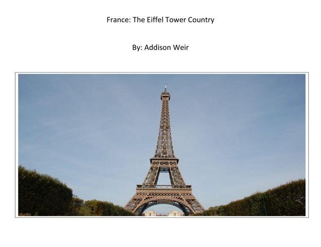 Addison - France