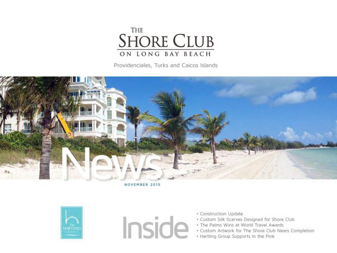 The Shore Club Newsletter | November 2015