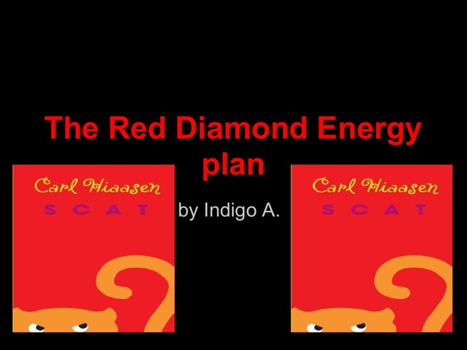 The red diamond energy plan