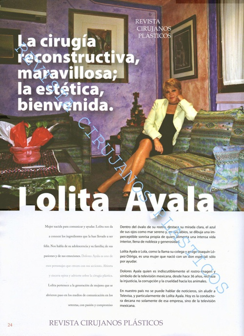 Entrevista con Lolita Ayala
