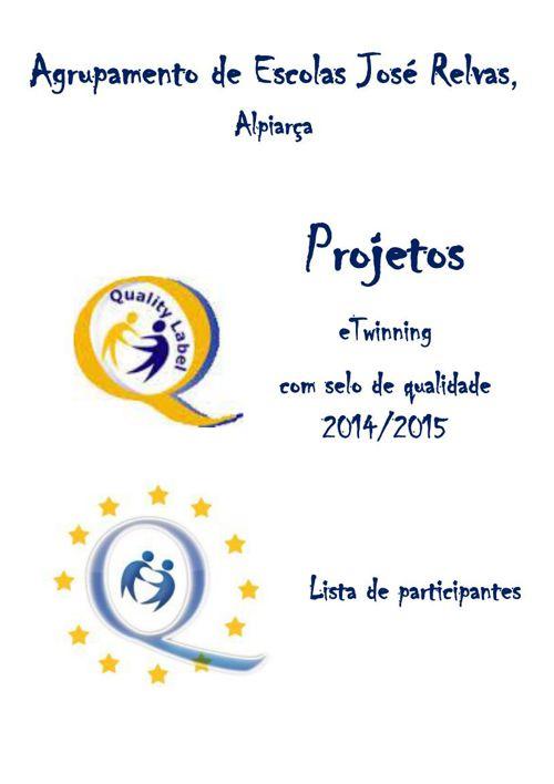 eTwinning Labels Agrupamento José Relvas, Alpiarça