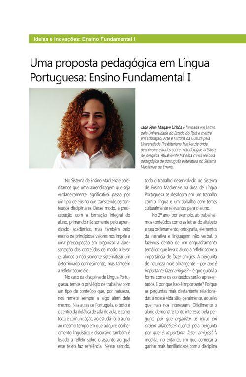 Uma proposta pedagogica Fund-I