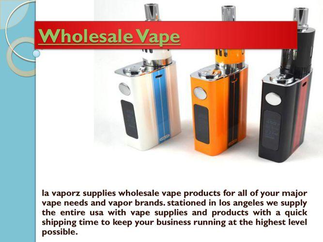 vaporizer wholesale
