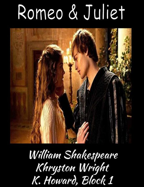 Khryston's Romeo & Juliet Scrapbook