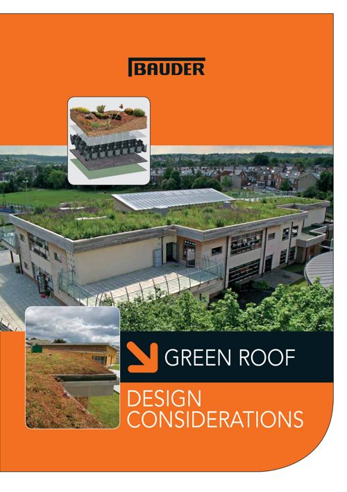 Green Roof Design Considerations - Bauder