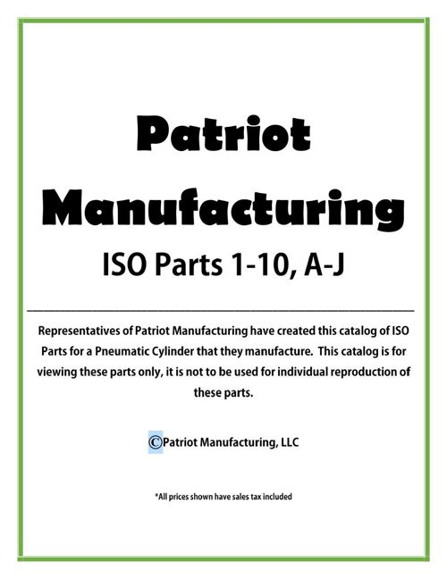ISO Part Catalog - Ian, Mikala, Tatem