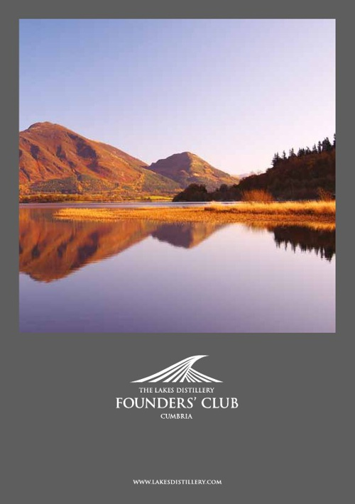 Lakes Distillery Founders Club Leaflet