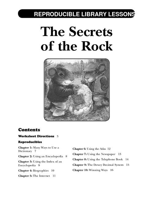 secret of rocks