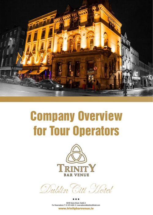 TOUR OPERATIORS