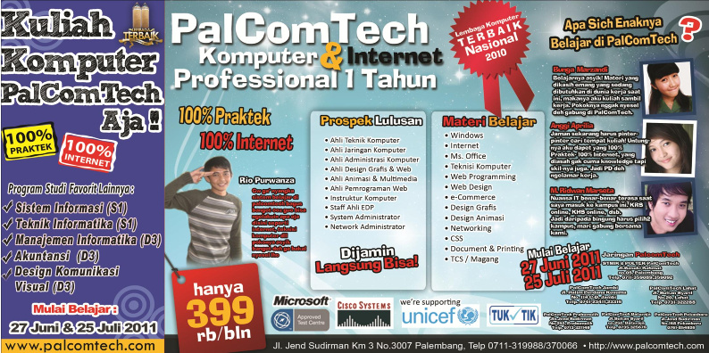 Program Professional 1 Tahun Palembang
