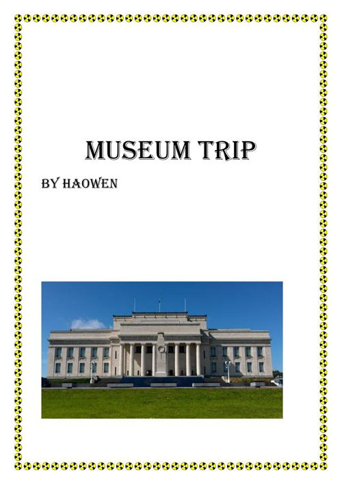 2 museum trip