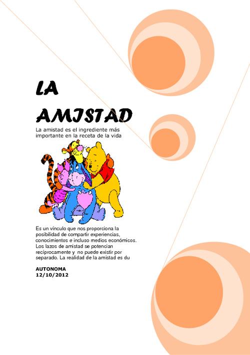 ♥♥LA AMISTAS♥♥ :D