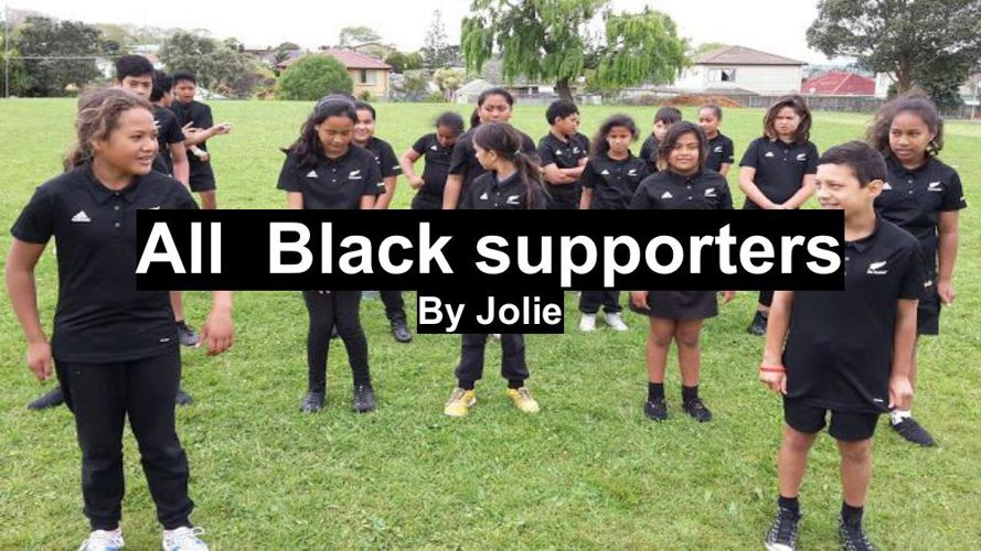 All  Black supporters (2)